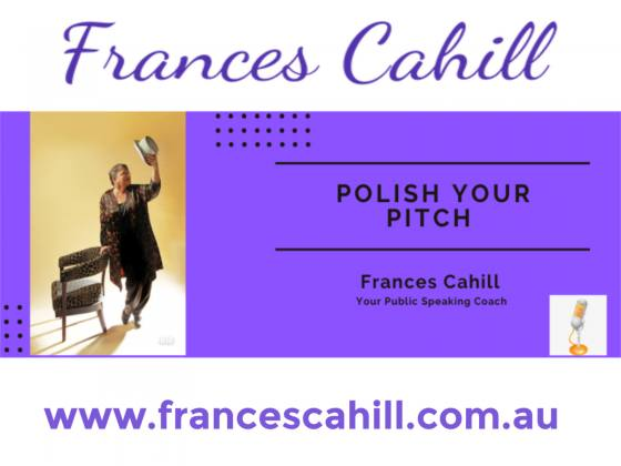 SpirituallyRAW Ep 352 Polish Your Pitch with Frances Margaret Cahill, Public Speaking Coach