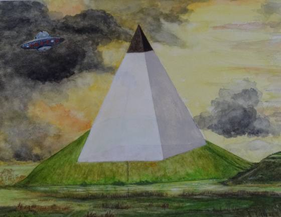 Silbury Hill - Pyramid Mound?