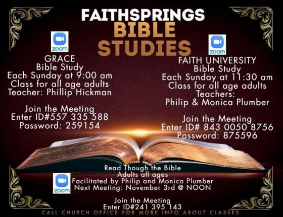 FaithSprings - Bible Studies
