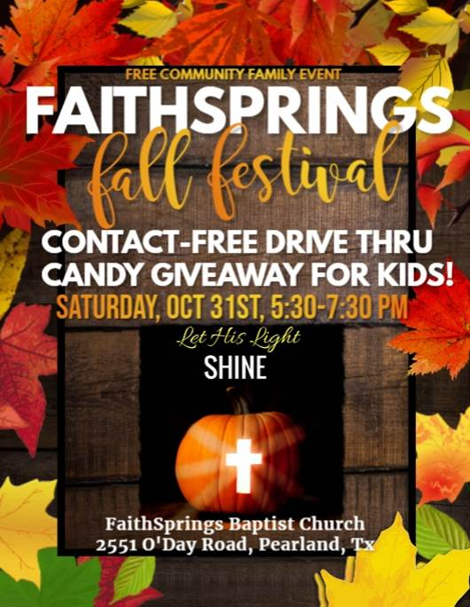 FaithSprings - Fall Festival