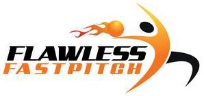 Flawless Fast Pitch Logo