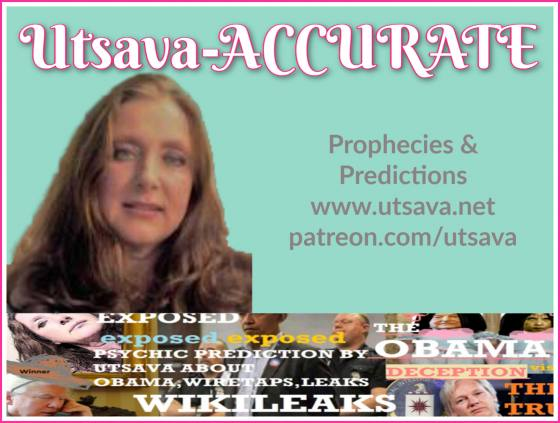 SpirituallyRAW Ep 355 IT'S SHOWTIME! Guest, Famous Psychic Medium Utsava Receives New Prophetic Information