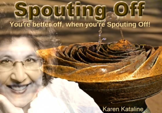 Spouting Off! Every Tuesday, 1PM Pacific, 4PM Eastern Time!