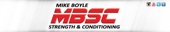 Michael Boyle Strength and Conditioning Logo