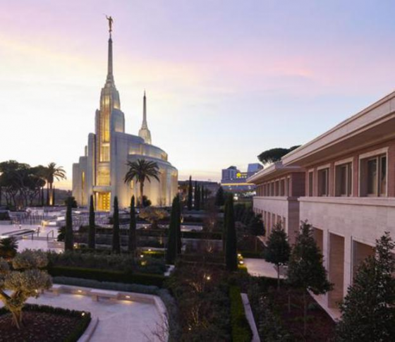 The New Ninth Circle Child-Killing Center?  Mormon Temple, Rome: Now open for Sacrificial Business