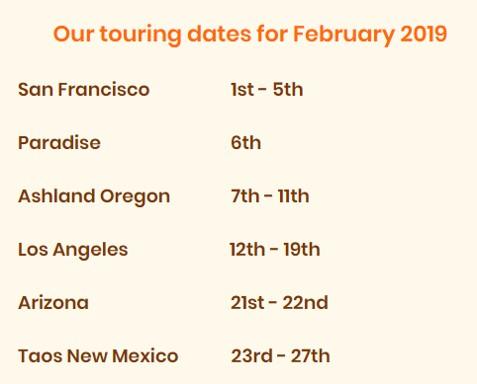 Paul Richardson Tour Dates 2019