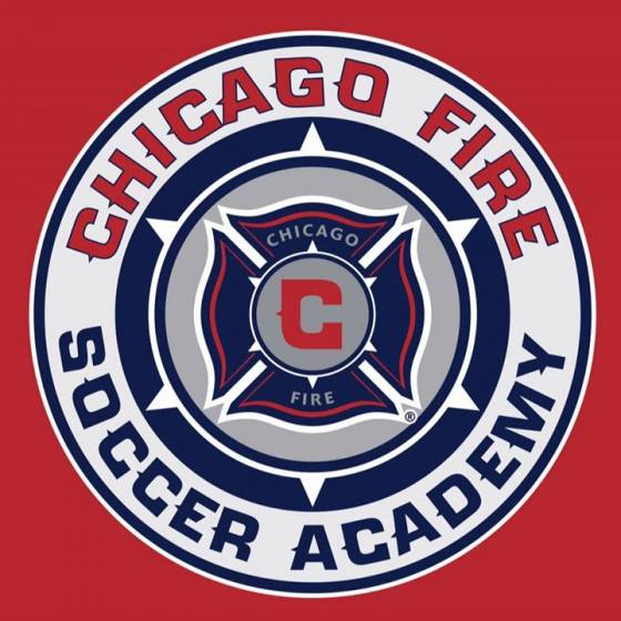 Logo for Chicago Fire Soccer Academy