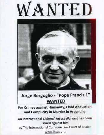Wanted: Jorge Bergoglio - Pope Francis 1