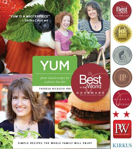 YUM: Plant-Based Recipes For A Gluten-Free Diet: SIMPLE RECIPES THE WHOLE FAMILY WILL ENJOY
