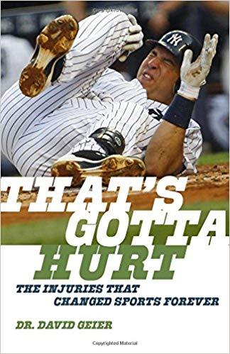 'That's Gotta Hurt' by Dr. David Geier