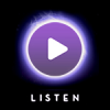 Listen Now icon or Play Now icon, from BBS Radio