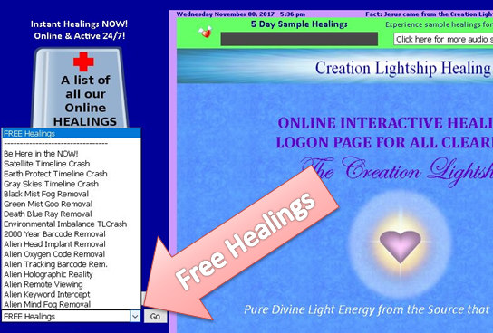 How To Access Our Free Healings