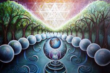 Mystic Gaia by Krystleyes