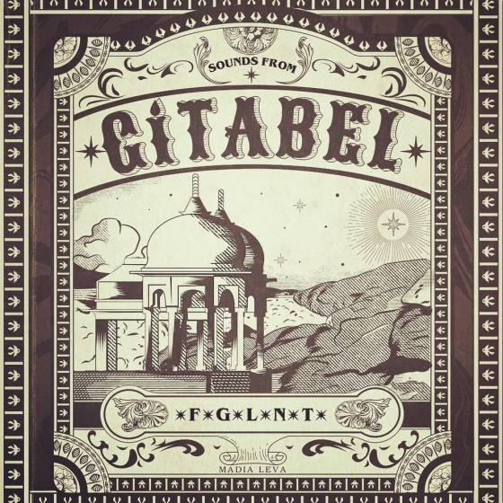 """Sounds From Gítabel"" EP Cover Art"