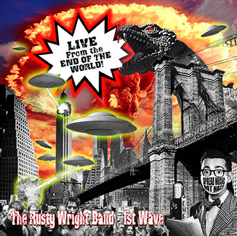 CD Cover for Live from the End of the World-1st Wave
