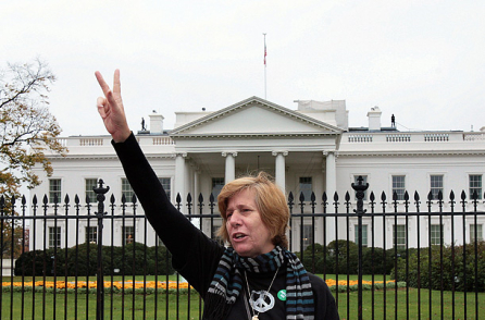 Cindy Sheehan, Author, Nobel Peace Nominee, Anti War Activist and Anti War Tax Resistor