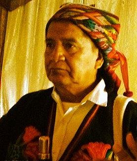 Don Tomas Calvo, Mayan Pope, Keeper of the Mayan Book of Creation and Maya Moral Authority