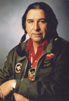 Ed McGaa, Oglala Sioux Tribal Member, Sundancer, Fighter Pilot, Marine, Author, Lawyer