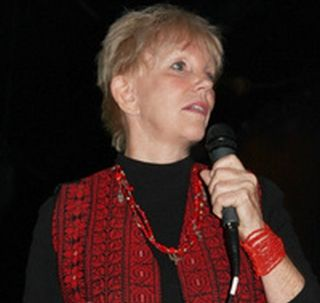 Greta Berlin, Activist, Speaker and Media Coordinator