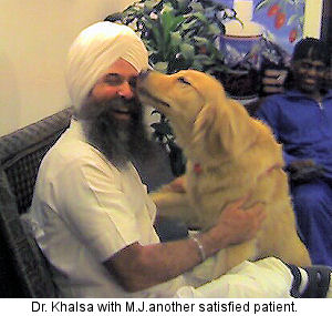 Dr. Har Hari Khalsa, Holistic Health Innovator, Personal Physician, Holistic Chiropractor, Transcendent Meditator, TV Show Host, Columnist and Yoga Practicioner