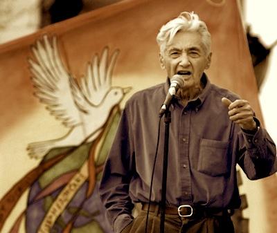 Howard Zinn, Historian, Playwright, Political Activist, Author, Director, Producer, Pilot, Doctor of History and Teacher