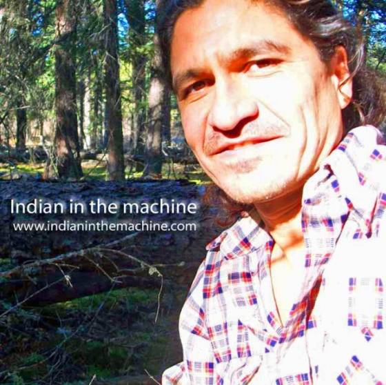 Deiter Braun Indian in the Machine The Red Shaman