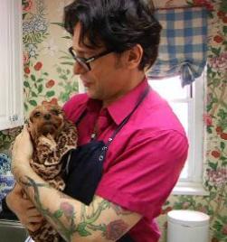 Jorge Bendersky, Celebrity Dog Groomer