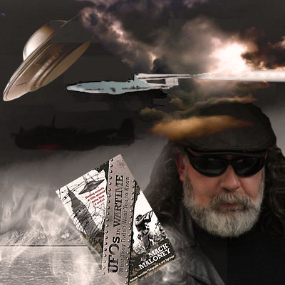 Mack Maloney, Author, Filmmaker, Writer and UFO Researcher