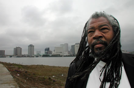 Malik Rahim, Former Black Panther, Prison Activist, Green Party Candidate, Humanitarian, Speaker and Community Organizer