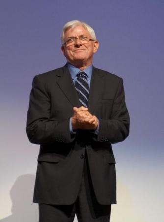Phil Donahue, Writer, Accouncer, Producer, Director, Host, Broadcaster and News Anchor and Personality