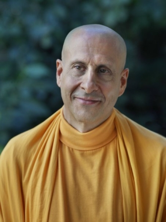 Radhanath Swami, Born Richard Salvin, Monk, Teacher, Devotee of Khakti-Yogi, Author, Wandering Ascetic, Krishna Consciousness Practitioner and Humanitarian