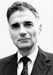 Ralph Nader, Social Critic, Influential American, Politician, Consumer Advocate, Attorney, Writer, Author, Lecturer, Senator and First Green Party Presidential Candidate