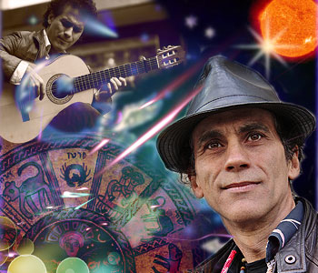 Santos Bonacci, Guitarist, Flamenco, Latin and Jazz Musician, Lecturer, Sovereignty Law Researcher, Astrotheology Researcher and World Corruption Explorer
