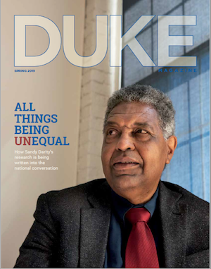 Darity Duke Magazine cover