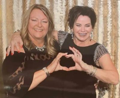 Karen & Yvonne at the Women of Inspiration Gala 2019