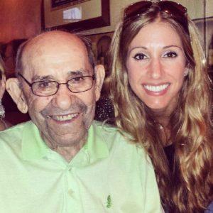 Lindsay and Yogi Berra