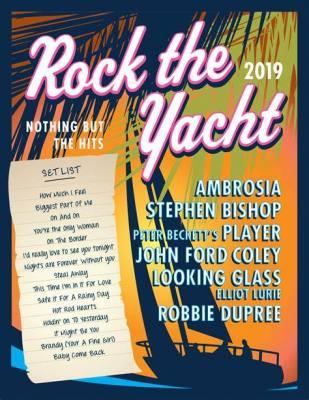 Rock The Yacht Tour 2019