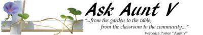 Ask Aunt V