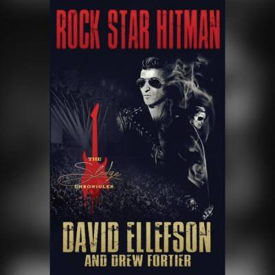 David Ellefson's novel The Sledge Chronicles: Rock Star Hitman by David Ellefson (Author), Drew Fortier (Author) At amazon.com