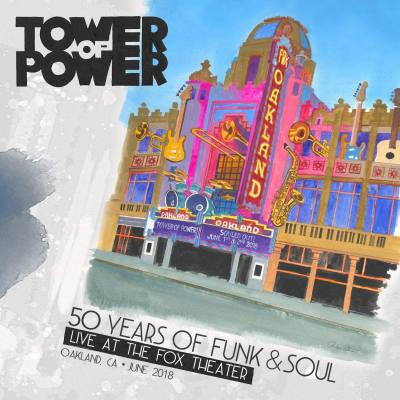 Purchase TOWER OF POWER 50TH ANNIVERSARY