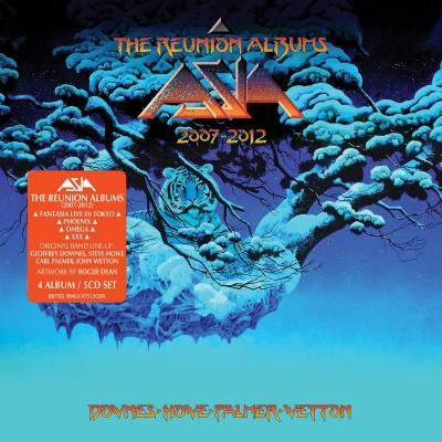 Purchase ASIA 'The Reunion Albums: 2007 – 2012'