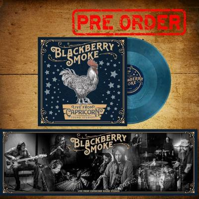 "JIMMY HALL APPEARS ON THE NEW EP FROM BLACKBERRY SMOKE ""LIVE FROM CAPRICORN SOUND STUDIOS""."