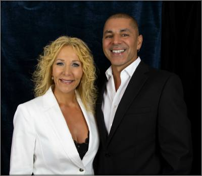 April & Ajay(Jay) Founders of MISSION RICH Marketing, Exec. Consultants For Entrepreneurs, Media Personality, & Authors