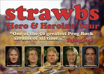 Dave Cousins of the Strawbs special guest on Interviewing the Legends with Ray Shasho