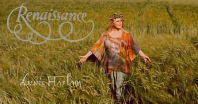 Annie Haslam legendary songstress with prog rock's Renaissance