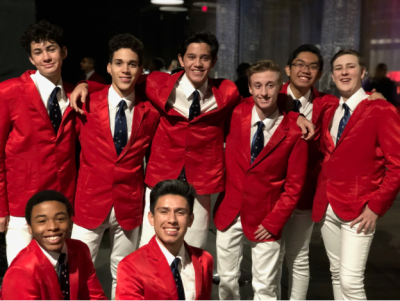 Burbank High School's Gentlemen's Octet