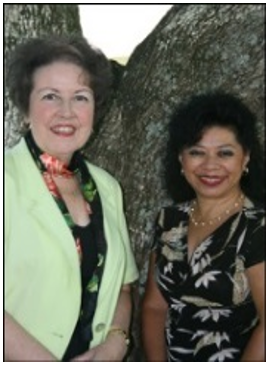 Maudy Fowler and Gail Hunt