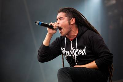 Elias Soriano frontman for alternative metal/hard rock band Nonpoint