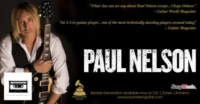 Paul Nelson: Guitarist,Songwriter,Producer and Grammy Award Winner