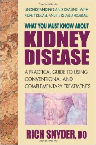 Dr Rich Snyder to speak on kidney disease on Holistic Health Show